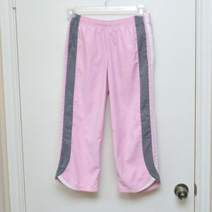 Nike Pink Gray White Capris Size Small